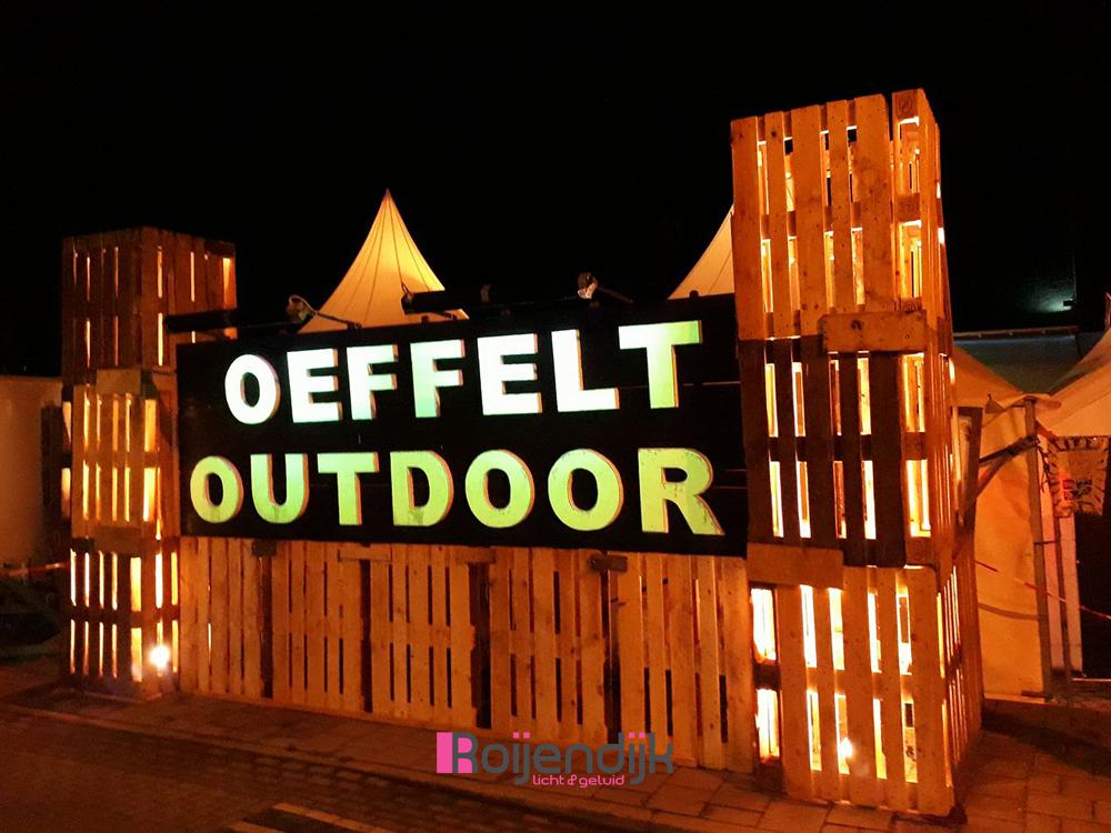 Oeffelt Outdoor | Roijendijk Licht en geluid verzorgde hier de Audio | Monitoren | Dj Apparatuur | Sfeer en show verlichting | Geluidstechnici