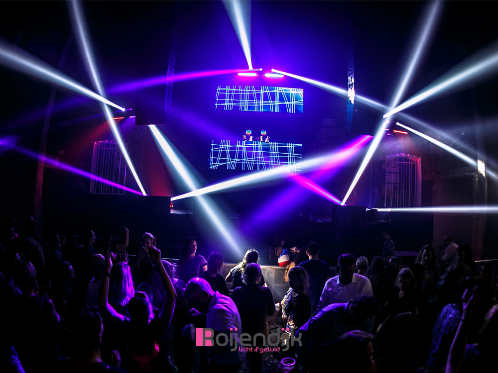 Fabulous 90's evenement, Koekbouw Veghel, Noordkade, Roijendijk licht en geluid, licht, geluid, laser, special fx, uitgaan, sfeer