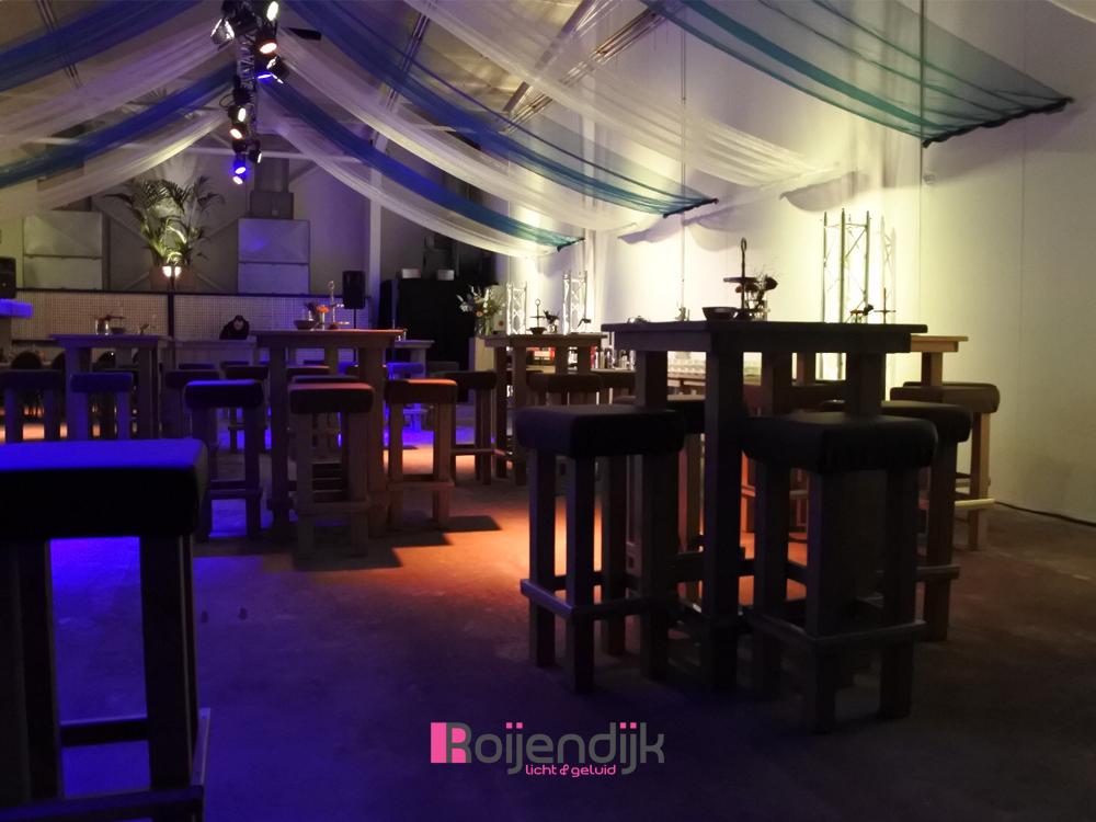 Op 18 november verzorgden wij samen met Berends Bloemsierkunst in opdracht van Sansi Pary & Events de sfeer verlichting en achtergrondmuziek installatie bij Truck Pulling Team Buurman en Buurman en Ce-Ho Trucks en Onderdelen.